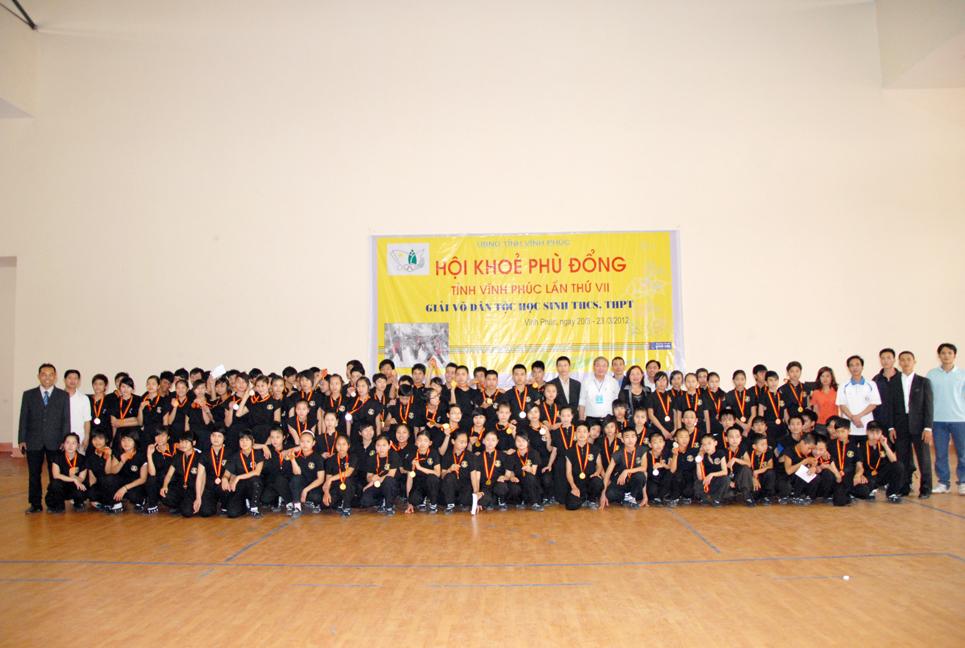 Môn Phái Nam Huỳnh Đạo triển khai thành công Võ Dân Tộc tại Tỉnh Vĩnh Phúc