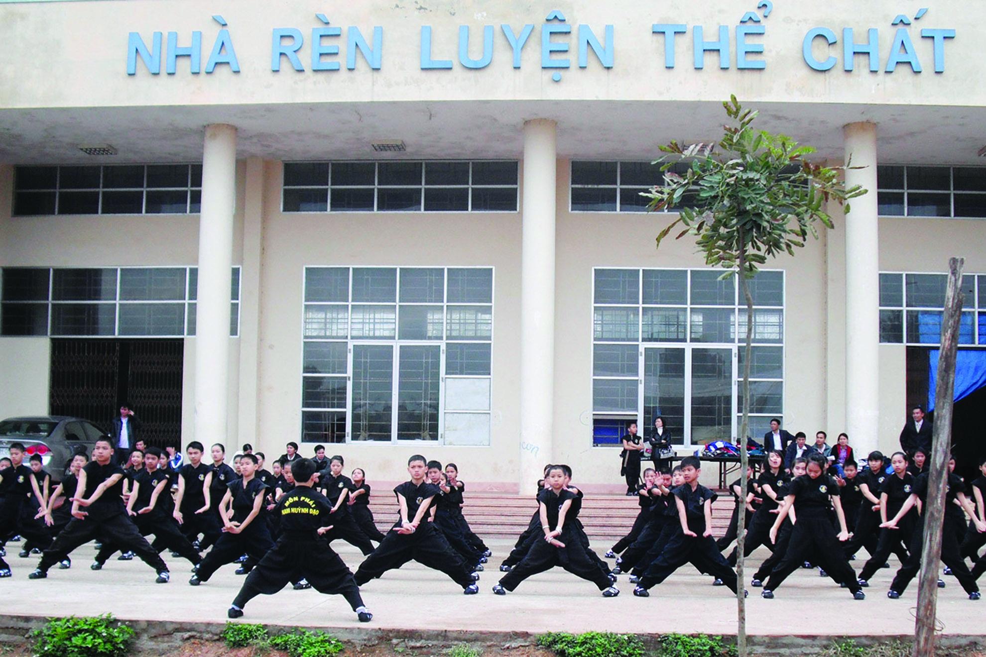 giáo dục thể chất học đường 012